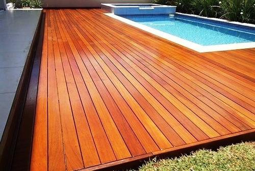 deck de madera ($1699 final x m2)