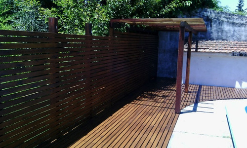 deck de madera