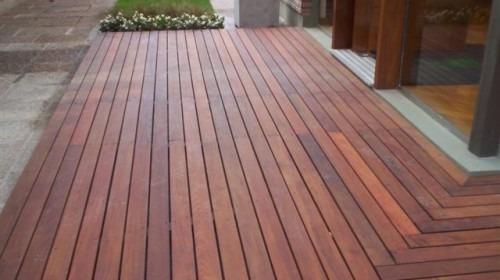 deck de madera con colocacion-aceptamos tarjetas de credito