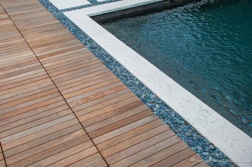 deck de madera de cumaru