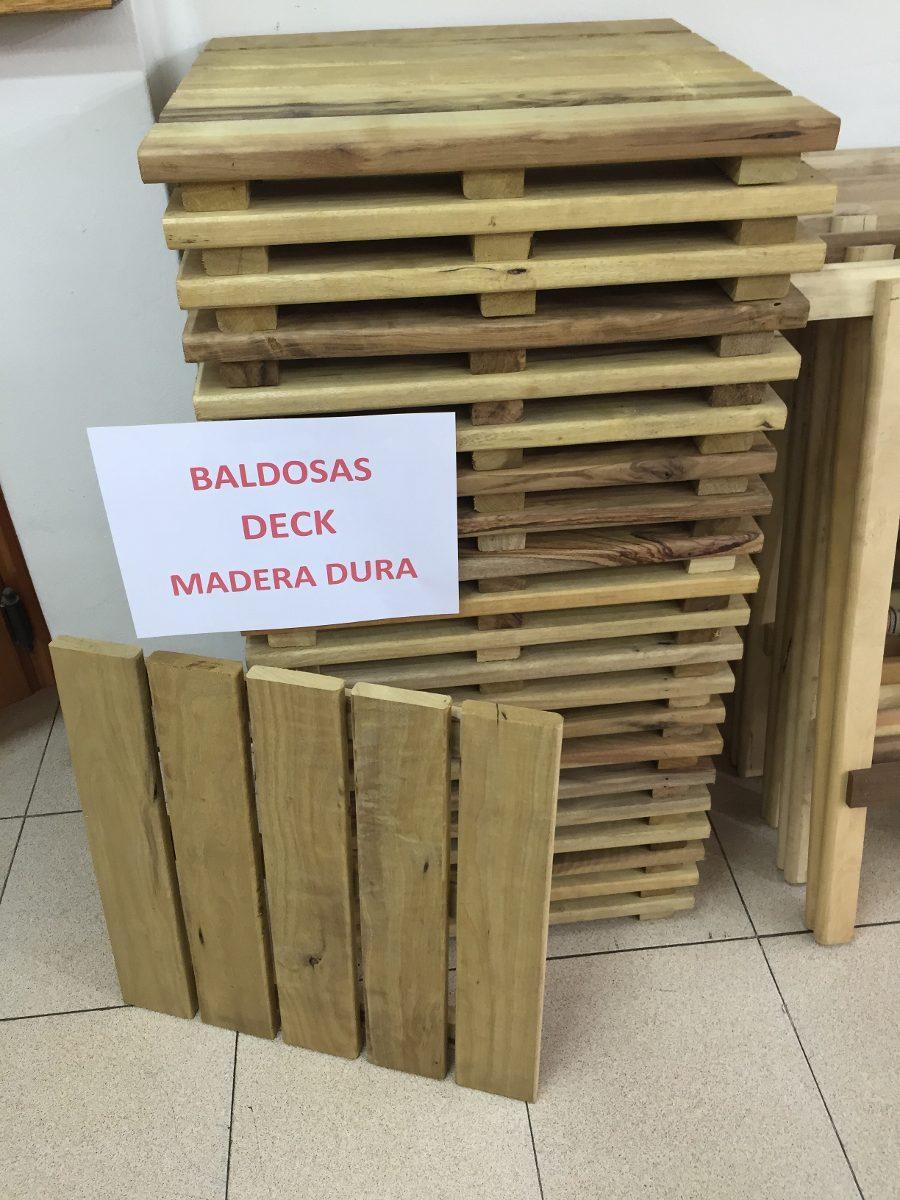 Deck De Madera Dura En Baldosas Para Exterior - $ 239,00 en Mercado ...