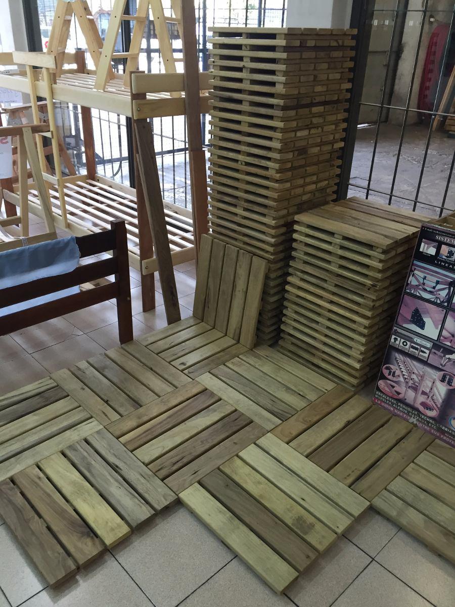 Baldosa para exteriores deck de madera dura en baldosas - Baldosas para exteriores ...