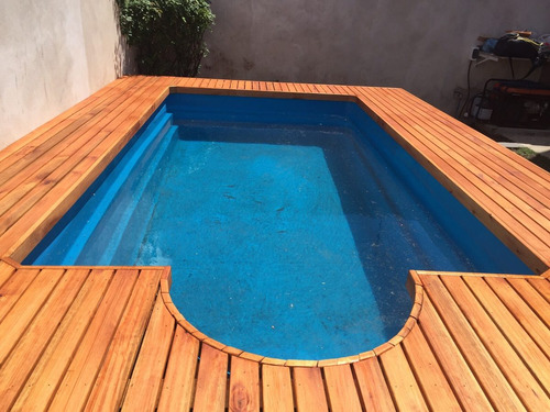deck de madera eucalipto grandis tabla 1x3 3.70 mts