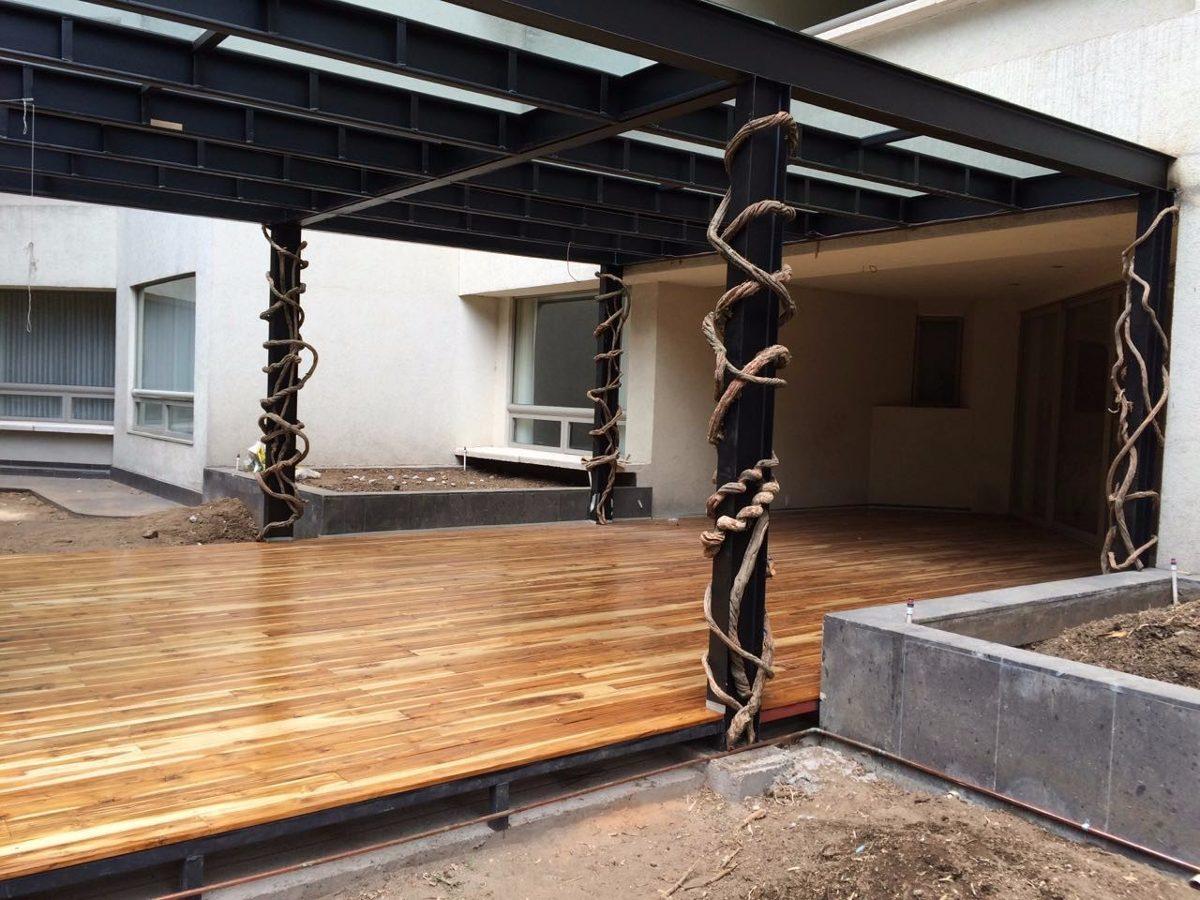 Deck de teca duela de teca uso interior y exterior for Interior y exterior