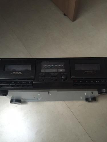 deck doble cassettero sony tc-we305 (nuevo)