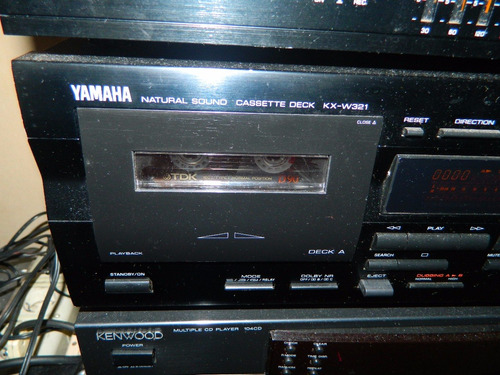 deck doble  marca yamaha  impecable estado u$s 100