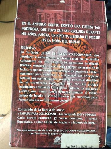 deck inicial de pegasus de 1996 en español nuevo(sellado)