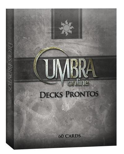 deck iniciante de magic branco - em português com 2 raros