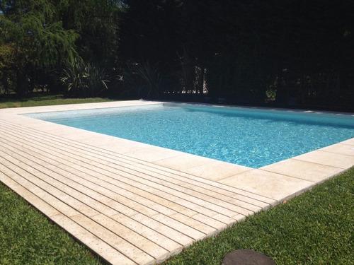 deck listón atermico pileta piscinas 120x12 castelatto