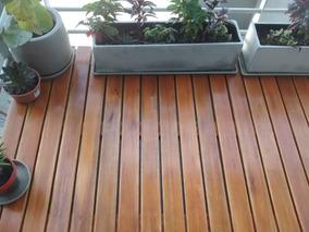 Deck Madera De Eucaliptus Ideal Balcones O Terrazas