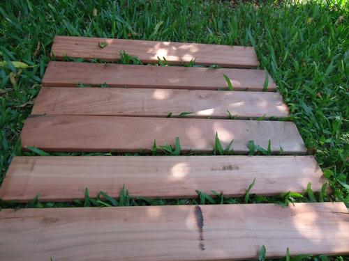deck madera dura (rostrata - euc colorado) productor directo