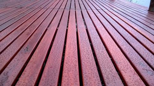 deck  madera dura/quebracho colorado