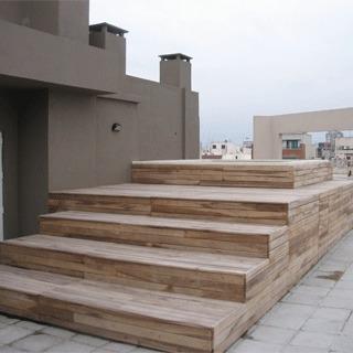 deck madera madera