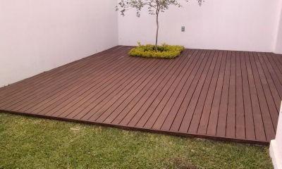 Deck madera para exterior en mercado libre for Deck para exteriores