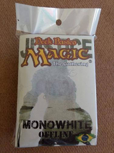 deck magic branco + manual de regras - frete fixo r$10