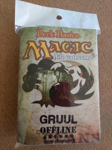 deck magic iniciante + manual regras básicas - frete r$10