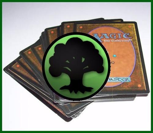 deck magic the gathering baralho pronto - verde - português