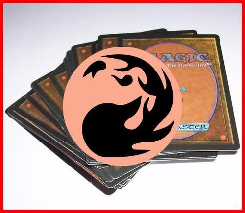 deck magic the gathering baralho pronto vermelho - português