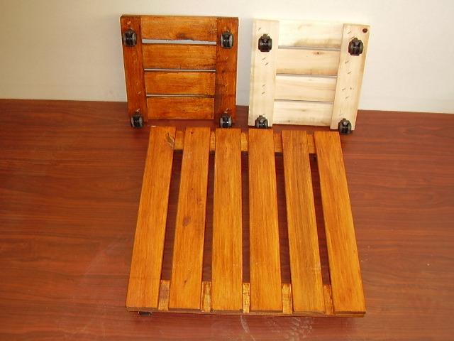 deck movil con ruedas 30x30 cm para macetas pesadas - $ 348,00 en