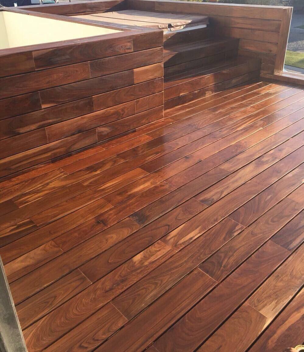 Deck para exterior parota huanacastle madera de primera ca 1 en mercado libre - Tipo de madera para exterior ...