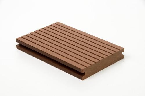deck pvc simil madera con kit colocación m2 ceramisur