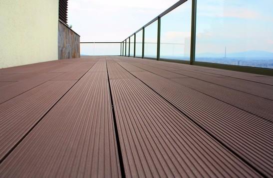 Deck pvc wpc con bambu piso para exteriores economico for Deck para exteriores