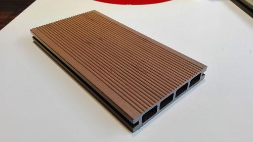 deck tablas wpc color mocca libre de mantenimiento
