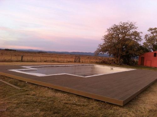 deck tablas wpc resistente libre de mantenimiento