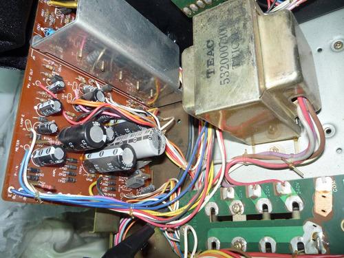 deck teac c3rx con dbx tres cabezales vias variable
