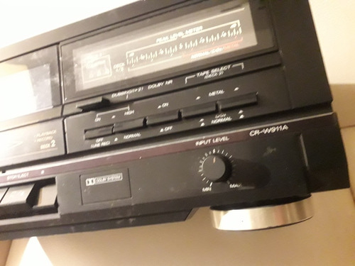 deck tocacintas fisher stereo cr-w911a