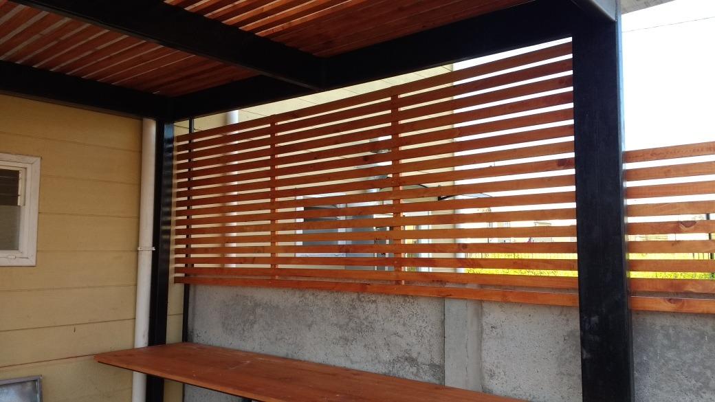 Deck vertical muros en mercado libre for Muro de separacion terraza