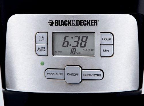 decker cafetera black