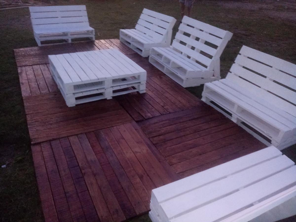 Decks Con Pallets Ideal Terrazas Jardines Piletas 1 550 00