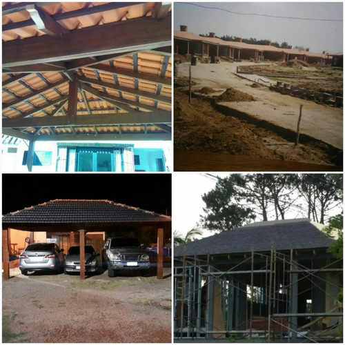 decks, pergolas y techos livianos