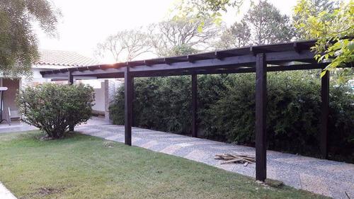 decks, techos y  pérgolas en madera