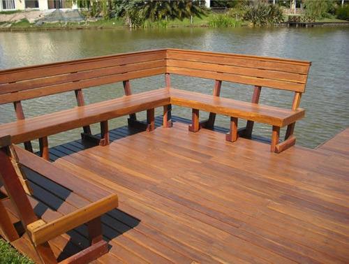 decks/muelles/estacadas/pergolas/marinas/cabañas
