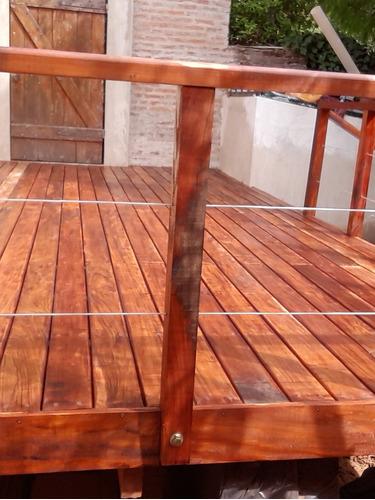decks/muelles/pergolas/cabañas/estacadas/marinas