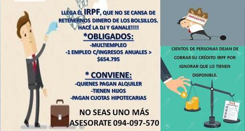 declaración de irpf