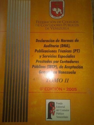 declaración de principios y normas de auditoría 6ta edición