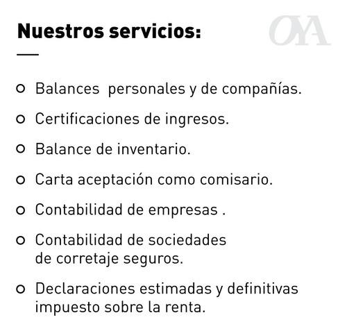 declaracion iva certificacion ingresos balances contabilidad