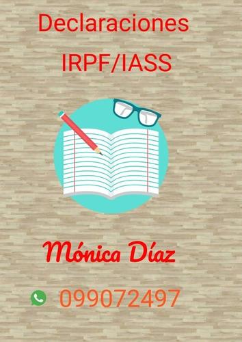 declaración jurada irpf/iass