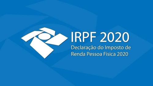 declaração de imposto de renda pessoa fisica - irpf 2020