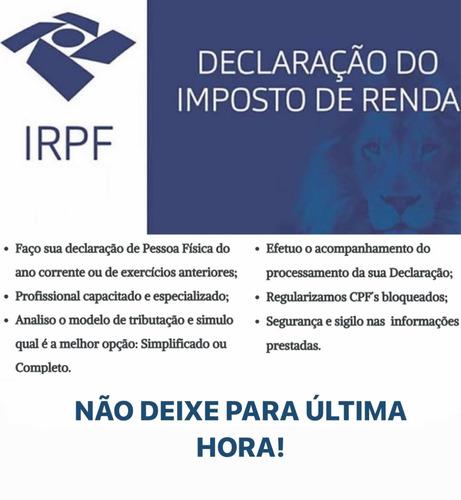 declaração imposto de renda - irpf 2021