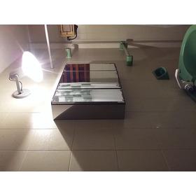 Deco Botiquin Ac. Inox. 3 Puertas 60x40(alto)x12 (prof)