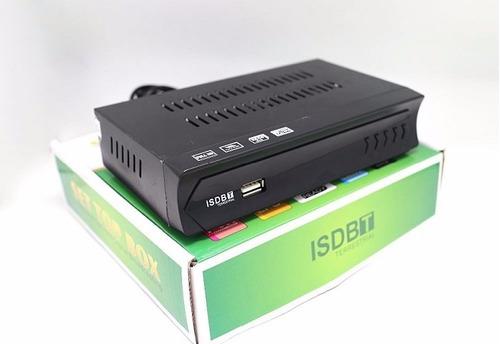 deco sintonizador tv digital full hd isdb-t + antena 20dbi