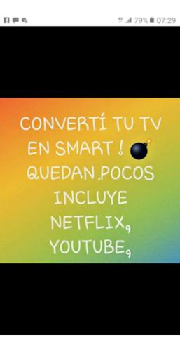 deco transforma cualquier tv en smart envio a todo el pais