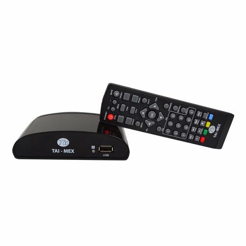 decodificador + antena aérea 360° para tv envío gratis
