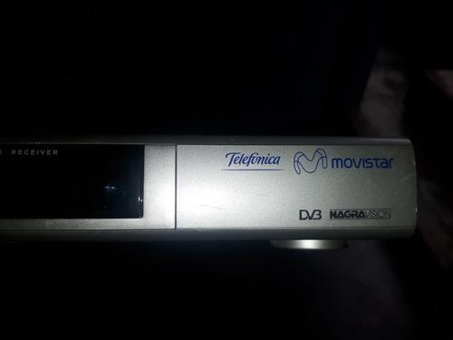 decodificador+antena movistar tv satelital usados