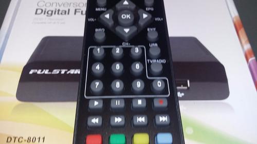 decodificador conversor sintonizador tda full hd usb led tv