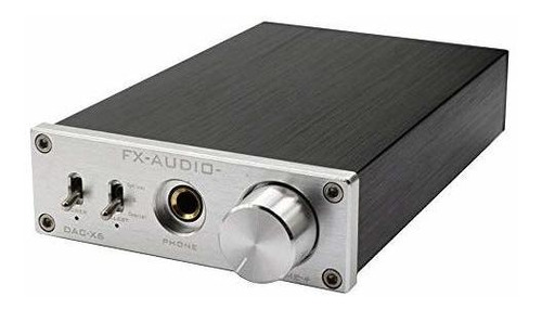 decodificador de audio digital dac-x6 24 bit / 192 amplifica